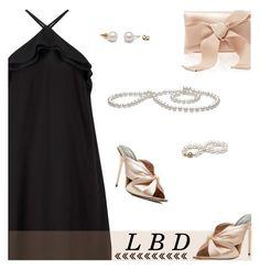 """Little Black Dress"" by rasa-j ❤ liked on Polyvore featuring Miss Selfridge, Oscar de la Renta, LBD and womenfashion"