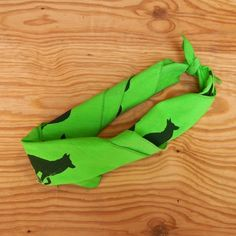Runyon Signature Lime Forest Signature Bandana from Runyon Canyon Apparel. Made In The USA.