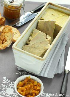 Foie gras en terrine et chutney de kumquats - De vous à moi !