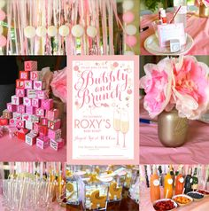 A Bubbly and Brunch Baby Shower, champagne themed shower diy bubbly shower- SohoSonnet Creative Living