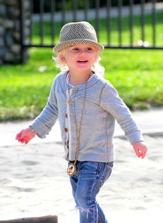 Rossdale baby fashion.
