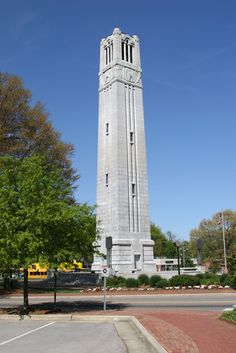 Bell Tower at North Carolina State University, Raleigh, North Carolina