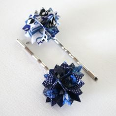 Remember sunny days spent at the carnival with this pinwheel-esque hair pins. Also love these