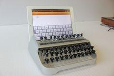Very cool - iPad Typewriter.
