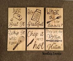 Funny kitchen signs, Kitchen Signs, Funny Kitchen quotes, Kitchen quotes, Rustic kitchen sign, kitchen decor, kitchen wall decor, Wood quote