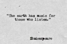 William Shakespeare Quotes about Earth, Music, and People | The Life Quotes