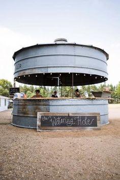 "FARM SHOW - ""Bin Bar"" Big Hit At On-Farm Wedding For the barn!!!"