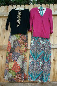 Quick maxi skirt