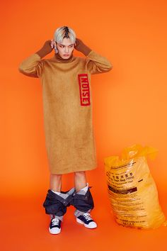 Jung Hyuk at ESTEEM Management photographed by Eunhye Park and styled by Yujin Yang, in exclusive for Fucking Young! Online. Hair & Make-up : Youngkyung Ha Artwork : Hwisung Kim &