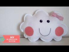 DIY - Almofada Nuvem - Faça você mesmo - YouTube