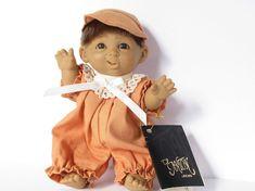 D'Anton Jos Small Baby Boy Doll Vintage Doll by artsix on Etsy
