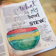 Abbie @abbiejo107 Instagram photos | Websta Genesis Bible, Bible Study Journal, Scripture Study, Art Journaling, Journal Art, My Bible, Bible Art, Book Art, Kunst