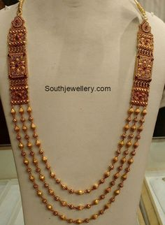 Antique Gold Long Chain photo