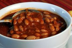 Pinto Beans in Chili Sauce
