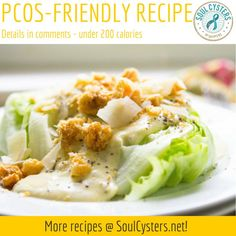 Click to find this and other PCOS friendly recipes at SoulCysters.com!