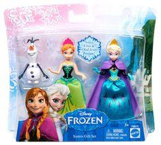 muñecas Elsa y Anna (y Olaf) Frozen