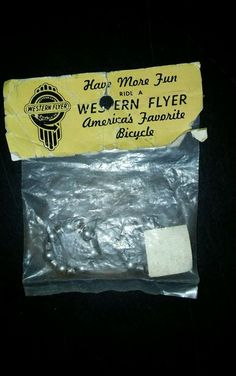 Vintage #13 Western Flyer 2- Front Bicycle Hub Bearing Retainer  FS5294…