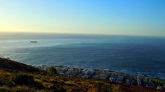 Three Anchor Bay - Taken from the top of Signal Hill looking out towards the Atlantic Ocean.
