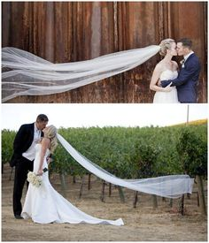 Bottom photo, but with both of the groom's hands on the bride's waist, maybe dipping her!