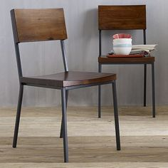 Rustic Dining Chair #WestElm