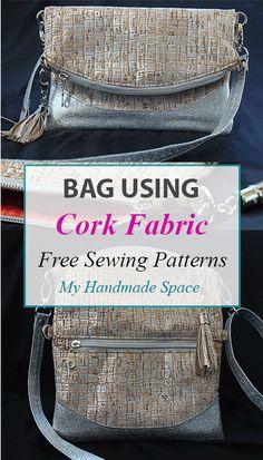Cork Bag - FREE Sewing Pattern - My Handmade Space