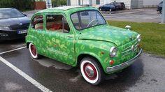 Fiat 600 by Juha Jousi Finland. Life is too short, keep fun. #fiat600 #fiat #600 #JuhaJousi #vintge #retro