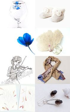 pretty items of some friends  by Leo Ramelow on Etsy--Pinned with TreasuryPin.com