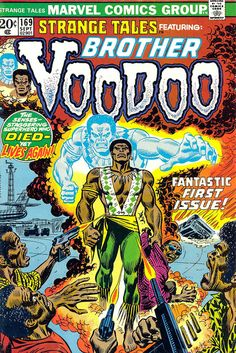 Strange Tales featuring: Brother Voodoo
