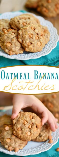 These Oatmeal Banana Scotchies are sure to be a new favorite! Super soft and…