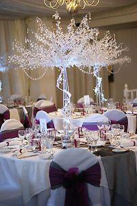 Winter Wedding Table Decor Reception Www Melissatealphotography Inspiration Pinterest