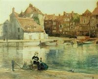 The harbour fairies by William Mitcheson Timlin