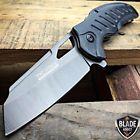 "8"" TAC FORCE TITANIUM Spring Assisted Open FOLDING Pocket Knife Wood Camping"