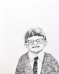 Happy Harry  Pencildrawing Ingjerd Tufto Instagram @intu