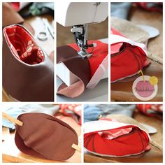 how to sew leather slippers