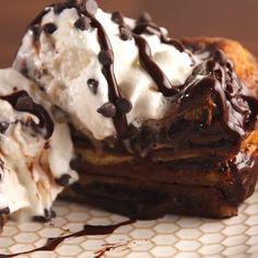 Köstliche Desserts, Delicious Desserts, Dessert Recipes, Yummy Food, Death By Chocolate, Chocolate Heaven, Dessert Chocolate, Chocolate Cookies, Hot Chocolate