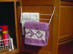 Rev-A-Shelf 563-32 563 Series Cabinet Door Mounted Towel Holder