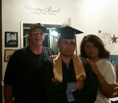 Happy Graduation Son We love you very much  We wish you the best in the next chapter of your life. Jeremiah 29:11
