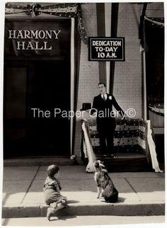 Movie Still Photograph Buster Keaton Giving Political Speech
