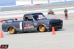 Brandy Phillips' 1972 Chevrolet C10 will compete in the 2015 OPTIMA Ultimate Street Car Invitational, presented by @KNfilters Learn more at www.optimainvitational.com