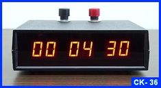 Small LED Industrial Desk Stopwatch Lab Timer displays minutes, seconds, and of seconds. It's a quality digital lab timer! Count Up Timer, Digital Timer, Industrial Desk, Time Clock, Digital Alarm Clock, Led, Electronics, Products
