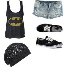 Outfits, Fashion. Batman