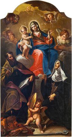 Madonna della cintura sant'agostino (Ricci)