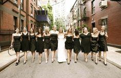 Mismatched black bridesmaids dresses   TinyCarmen. n.d. Black Bridesmaids Dresses. Available: http://indulgy.com/post/k4FparxMF1/black-bridesmaids-dresses (accessed 21 March 2014).