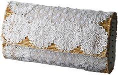 Lace mini clutch / POPSUGAR Shopping: American Rag(アメリカンラグ シー) 【FATIMA MOROCCO】ミニクラッチバッグ