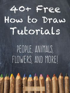 Free How to Draw Tutorials