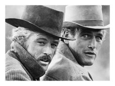 Redford & Newman ~ Butch Cassidy and the Sundance Kid (1969)