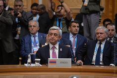 El presidente armenio Serzh Sargsyan dijo el jueves en una cumbre conjunta de los BRICS, CEEA y la Organización de Cooperación de Shanghai, que Armenia es sinónimo de interacción entre las distintas asociaciones de integración.