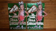 Student Council Class Representative Campaign Posters! 5th grade Student Council Campaign