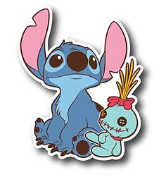 PIC Stitch Decal Sticker for case car Laptop Phone Bumper etc Snapchat Stickers, Meme Stickers, Cartoon Stickers, Phone Stickers, Cool Stickers, Printable Stickers, Lilo Et Stitch, Disney Stitch, Stitch Drawing
