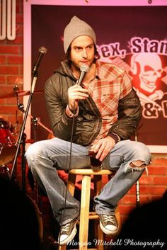 I have fallen for Chris D'Elia, he's so funny how could I not?!!